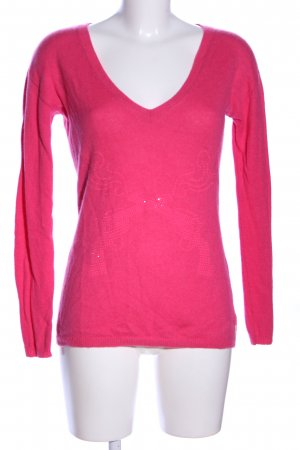 Witty Knitters Cashmerepullover pink Casual-Look