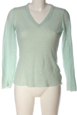 Witty Knitters Kaszmirowy sweter zielony W stylu casual