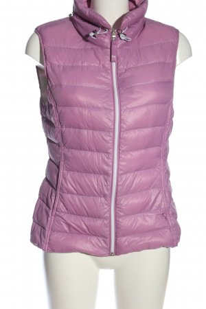 Witty Knitters Down Vest lilac quilting pattern casual look