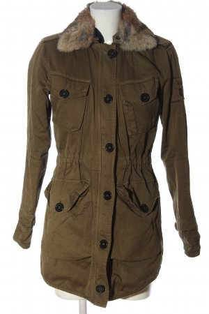 Witty Knitters Double Jacket khaki casual look