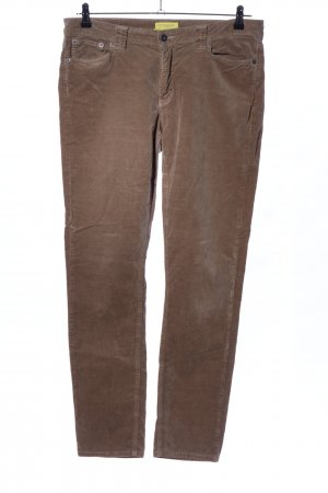 Witty Knitters Low-Rise Trousers brown casual look