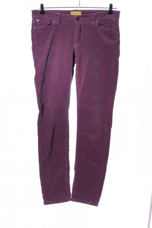 Witty Knitters Low-Rise Trousers lilac casual look
