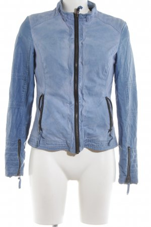 Witty Knitters Jeansjacke blau Casual-Look
