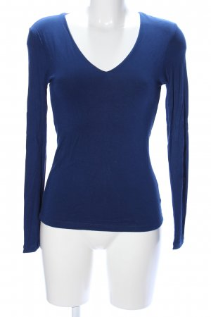 Witty Knitters Longsleeve blau Casual-Look