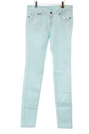 Witty Knitters Skinny Jeans türkis Casual-Look