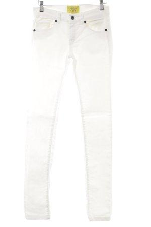 Witty Knitters Skinny Jeans hellbeige Casual-Look