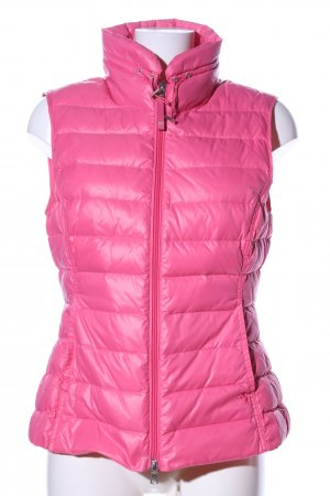 Witty Knitters Steppweste pink Steppmuster Casual-Look