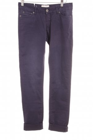 Witty Knitters Stoffhose dunkelblau Casual-Look