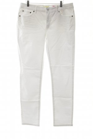 Witty Knitters Straight-Leg Jeans weiß Casual-Look