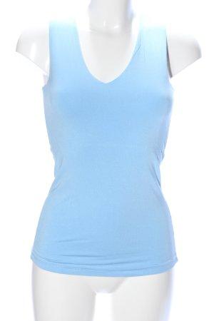 Witty Knitters Gebreid shirt blauw casual uitstraling
