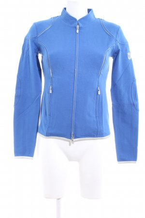 Witty Knitters Sweatjacke blau Casual-Look