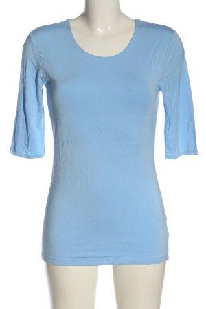 Witty Knitters U-Boot-Shirt blau Casual-Look