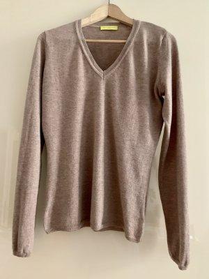 Witty Knitters Maglione di lana beige