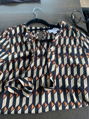 Rick Cardona NewYork Blusa con lazo multicolor