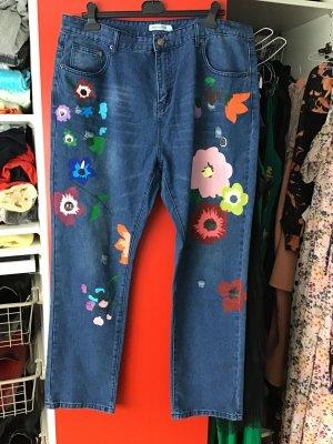Witzige Jeans Bundweite 50 cm einfach gemessen
