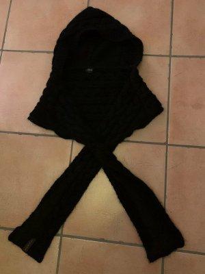 Guess Écharpe à capuche noir