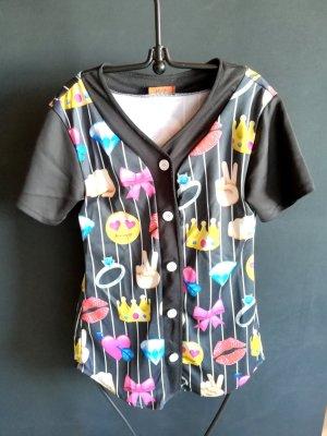 Veste chemise multicolore