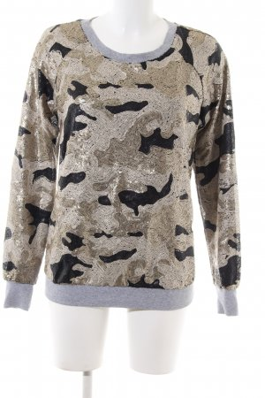WLG by Giorgio Bruto Sweatshirt Camouflagemuster Casual-Look