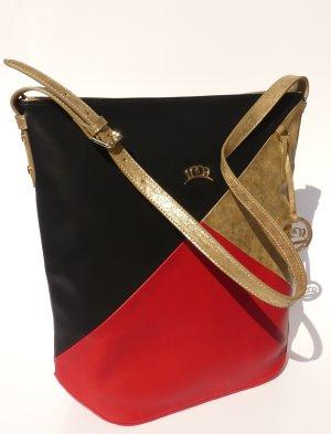 Umhängetasche Handtasche neu schwarz rot gold Miss Germany Premium Collection