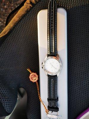 WMC Armbanduhr Uhr schwarz neu ovp