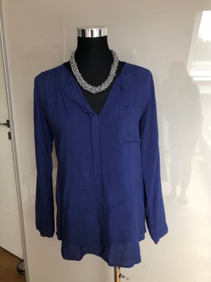 Serious sally Slip-over Blouse blue-dark blue