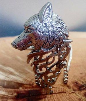Pendant silver-colored metal