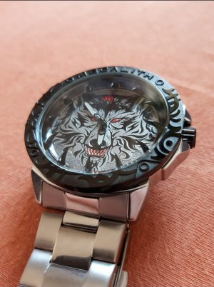 Wolf Armbanduhr aus Stahl (NEU / Unöffene)