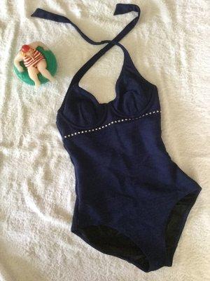 Wolford Zwempak donkerblauw-zilver
