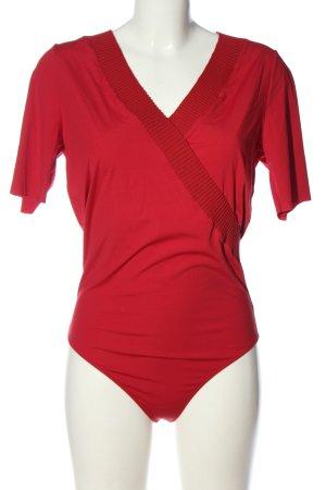 Wolford Body basic czerwony W stylu casual