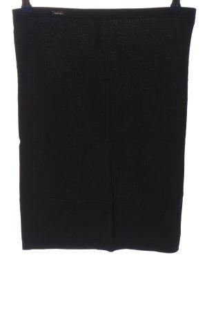 Wolford Bleistiftrock schwarz Casual-Look