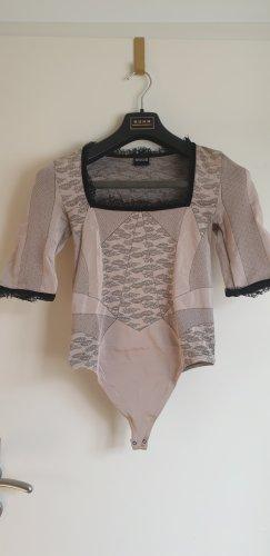 Wolford Camicetta body nero-rosa antico Tessuto misto