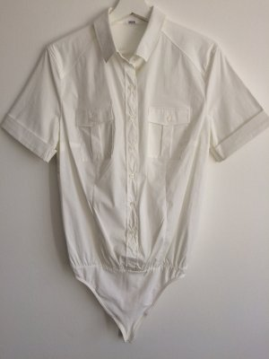Wolford Short Sleeve Shirt white cotton