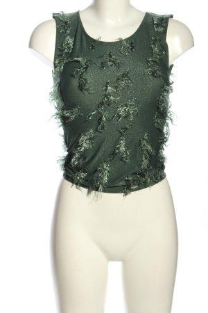 Wolford Blusentop grün Casual-Look