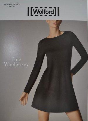 WOLFORD Fine Merino Dress Kleid A-Linie 100% Merinowolle