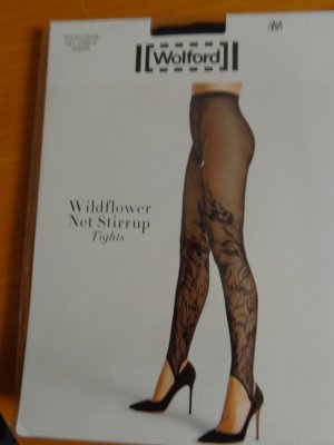 Wolford footless Strumpfhose/Legging schwarz Gr. M