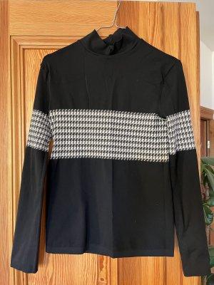 Wolford Lange cardigan zwart-wit