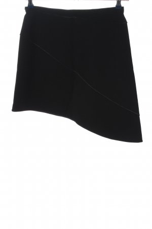 Wolford Falda de talle alto negro estilo «business»