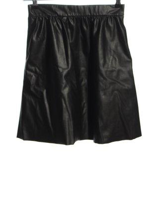 Wolford Rok van imitatieleder zwart extravagante stijl