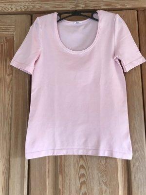Wolford Koszulka basic jasny różowy Bawełna