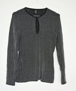 Wolford Jersey de punto negro-blanco poliamida