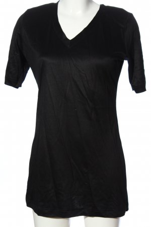 Wolford Longshirt schwarz Casual-Look
