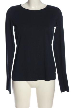 Wolford Koszulka z długim rękawem czarny W stylu casual