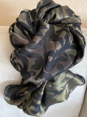 Wolford Mantilla negro-color oro