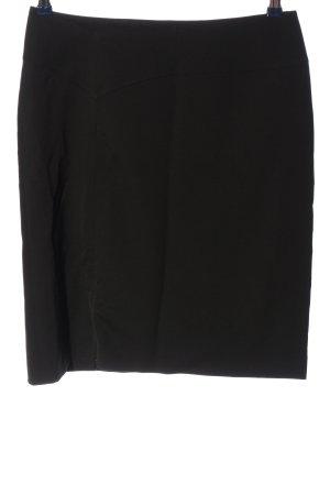 Wolford Falda de tubo negro look casual