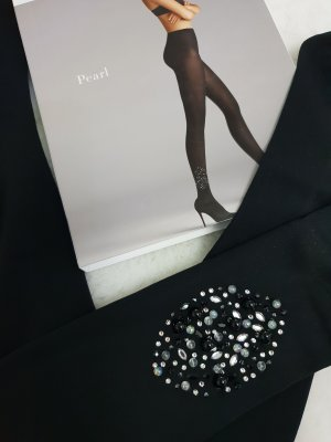 Wolford Leggings black-silver-colored