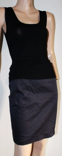 Wolford Pencil Skirt anthracite cotton