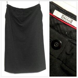 Wolford Falda larga negro Lana