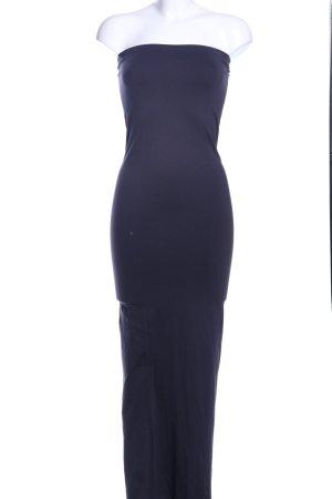 Wolford Schlauchkleid blau extravaganter Stil