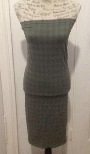 Wolford Stretch Dress green grey polyamide