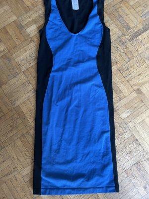 Wolford Sukienka tuba czarny-niebieski